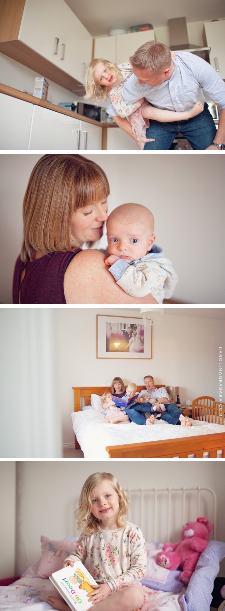 lifestyle photo session at home in Dunfermline
