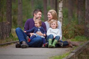 family photography Fife in Devila forest