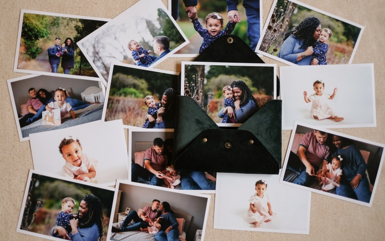 prints from professional baby shoot